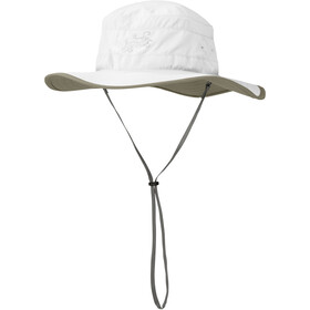 Outdoor Research Solar Roller Chapeau Femme, white/khaki